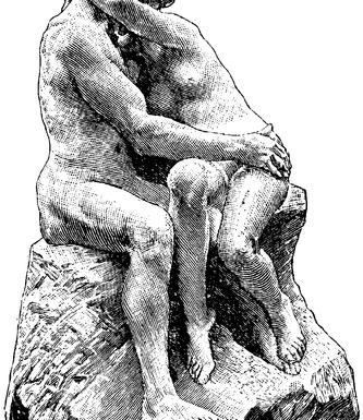 https://nrm.wikipedia.org/wiki/File:Bildhuggarkonst,_Kyssen,_af_Rodin,_Nordisk_familjebok.png Domaine public. Wikimedia Commons ©