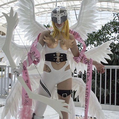 https://commons.wikimedia.org/wiki/File:AngewomonCosplay.jpg Creative Commons Attribution-Share Alike 2.0 Generic ©