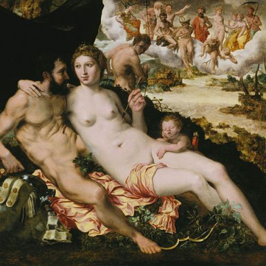 https://commons.wikimedia.org/wiki/File:Venus_en_Mars_-_Frans_Floris.jpg Domaine public. Wikimedia Foundation ©