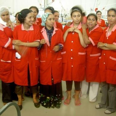 https://en.wikipedia.org/wiki/File:Women_working_at_TexTunis_in_Tunisia.jpg Creative Commons Attribution-Share Alike 2.0 Generic ©